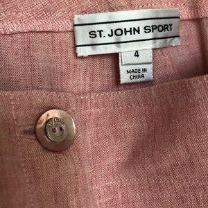 St. John Sport by Marie Gray Pants - St. John Sport Casual Suit Set